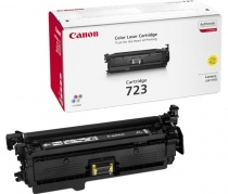 Canon Cartridge 723 YL + Hewlett-Packard CE252A Geltona, 8500 psl.
